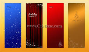4 x banner display stand roll background design template psd