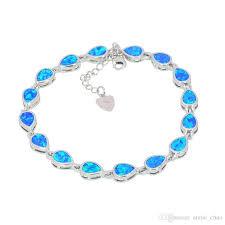bracelet fire images Wholesale retail fashion fine white rose green blue fire opal jpg
