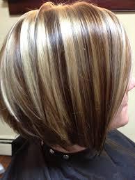 platinum blonde and dark brown highlights short blonde hair with dark brown highlights