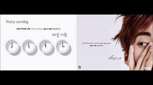 5 by 7 photo album 7 o clock hyung jun 김형준 3rd mini album am to pm 7 5