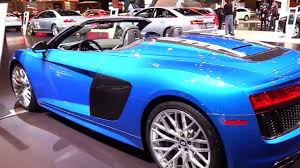 hyundai supercar nemesis 2018 audi r8 spyder 5 2 special luxury features exterior and