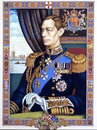arthur szyk haggadah portrait of king george vi dedicatee of the szyk haggadah famsf