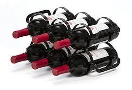 mango steam 6 bottle wine rack 6 bottle wine rack black wine