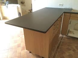 plan de travail cuisine granit noir réalisation de plan de travail de cuisine en granit noir à salon