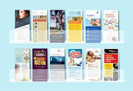 rack card flyer designs stocklayouts blog