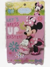 Minnie Mouse Easter Stickers Walt Disney World Plush Minnie Mouse 11 5 Walt Disney