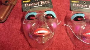 purge mask spirit halloween spirit halloween smiling see through mask unboxing youtube