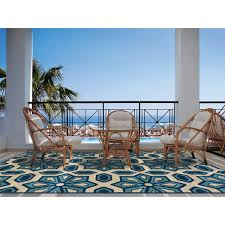 Polypropylene Rugs Outdoor by Stylehaven Caicos 100 Polyproplyene Indoor Outdoor Rug Tile Ivory