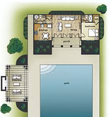Floor Plans With Porches by House Review Pool Houses U0026 Cabanas Professional Builder