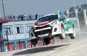 kia supercar rallycross supercar kia rio 600hp in action onboard youtube