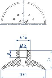 flat suction cups flat vacuum cups flat vacuum cups