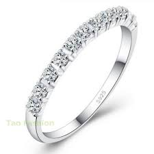 wedding rings women new design wedding rings women 925 sterling silver simulated