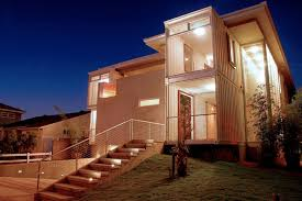 grand homes built out of shipping containers amys office