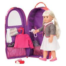Target Our Generation Bed Our Generation Doll Carrier Stripes Purple Target