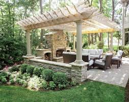 outdoor patio designs with fireplace 53 most amazing outdoor
