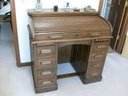 Antique Roll Top Desk by Antique Oak Roll Top Lebus Kneehole Edwardian Desk C 1910 From
