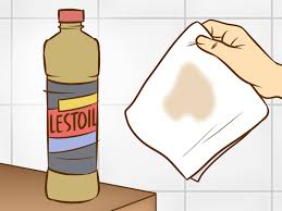 how to remove grease from the top of kitchen cabinets how to remove grease from clothes with pictures wikihow