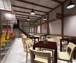 Asian Fast Food Restaurant Design Interior Design Portfolio - Fast food interior design ideas