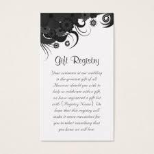 Wedding Gift Registry Nz 133 Black Wedding Registry Business Cards And Black Wedding