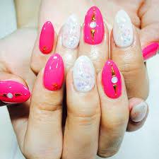 10 bright colored nail designs 26 spring acrylic nail designs