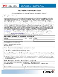 security clearance application form criminal record security