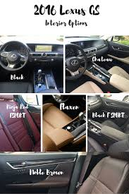 lexus san antonio dominion interior options for the 2016 lexus gs great choices with chateau