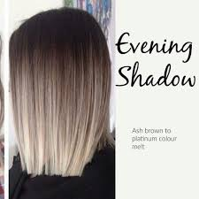 ash brown to platinum colour melt hair pinterest color