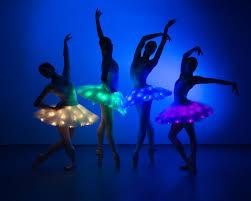 led light ballerinas youtube