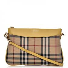 burberry siege social burberry horseferry check peyton crossbody bag yellow 216074