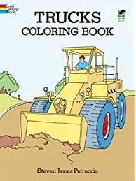truck coloring book marti jo u0027s coloring 9781495405068 amazon