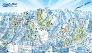 Maps Italy by Sansicario Ski Map Italy Europe