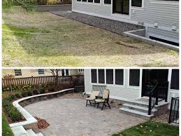 Retaining Wall Patio Gallery Kg Landscape Management