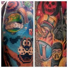 video game tattoo 1 best tattoos ever
