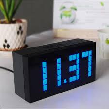 cool desk clocks aliexpress com buy sunrise alarm clock saat the calendar timer