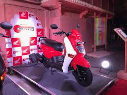 Honda Rugged Scooter New Scooter Honda Cliq Launched In India