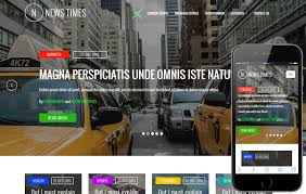 newspaper theme html5 news times a entertainment category flat bootstrap responsive web