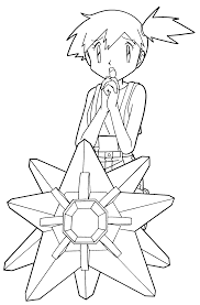 pokemon coloring pages misty pokemon coloring pages pokemon coloring pinterest pokemon