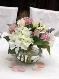 fish bowl flower centerpieces google search wedding and vow