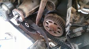 1999 mazda b2500 timing belt replacement youtube