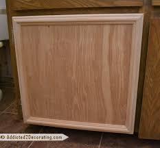 Vanity Unit Doors Bathroom Makeover Day 3 U2013 How To Make Cabinet Doors Without Using