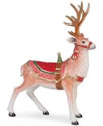 fitz floyd crimson santa figurine only at macy s