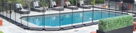 removable pool fence interior design