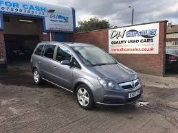 used vauxhall zafira mpv 1 6 i 16v club 5dr in seaham county