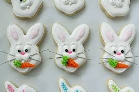 rabbit cookies worth pinning easter bunny sugar cookies