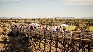 cheap wedding venues in oregon rustic wedding destinations brasada ranch