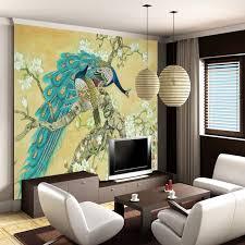 canapé asiatique sud est asiatique style papier peint salon chambre canapé toile de