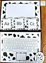 click clack alphabet letter learning laptop activity