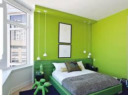 chambre verte decoration chambre verte et marron visuel 6