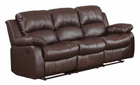 Leather Reclining Sofa With Chaise by Small Reclining Sectional Best Small Sectionals Recliner With