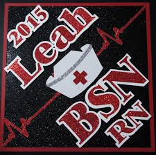 nursing graduation cap bsn rn custom graduation cap decoration topper